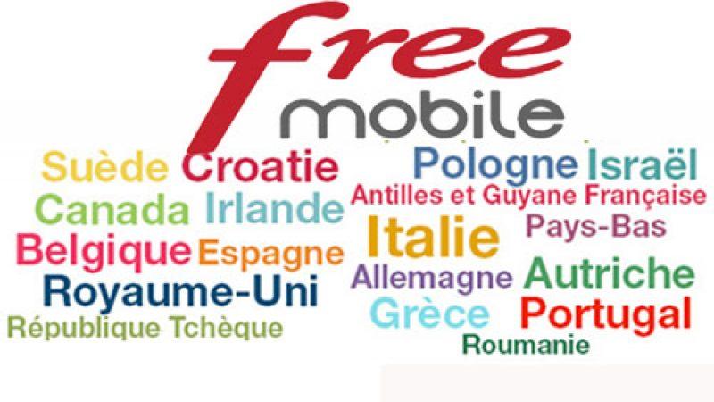 Free Mobile ajoute un nouveau pays inclus en roaming dans son forfait illimité