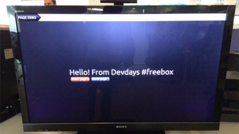 Free lance enfin le développement d'applications pour la Freebox Révolution
