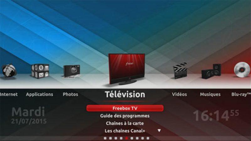 Nouvelle mise à jour Freebox Player avec de nombreuses corrections et une amélioration