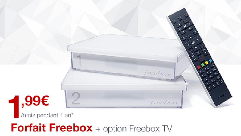 Freebox à 1,99€/mois durant 1 an : la Vente Privée est prolongée