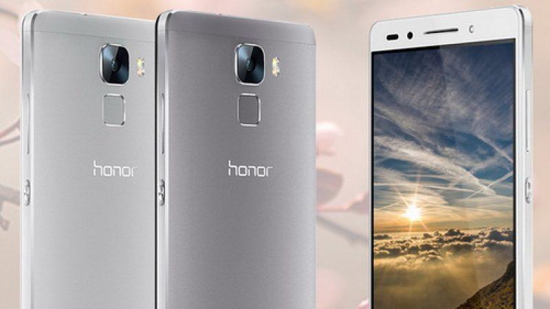 Nous avons testé le premier Honor proposé par Free Mobile, le Honor 7