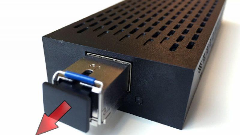 Free dévoile un nouveau convertisseur optique pour la Freebox Révolution, puis fait machine arrière.