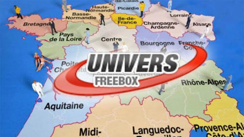 Univers Freebox lance les éditions régionales de chacune des nouvelles régions