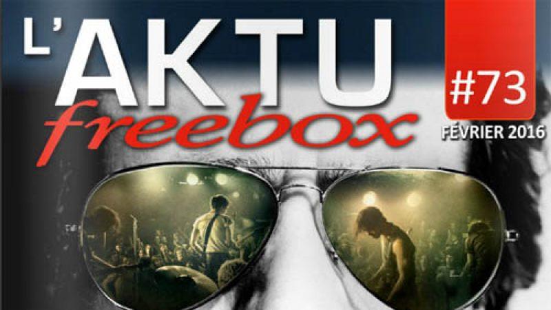 Freebox Aktu : découvrez toute l'actualité de Freebox TV en février