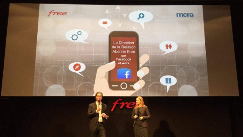 Free devient l'une des premières entreprises françaises à utiliser Facebook at Work en l'adoptant pour sa direction de la relation abonné