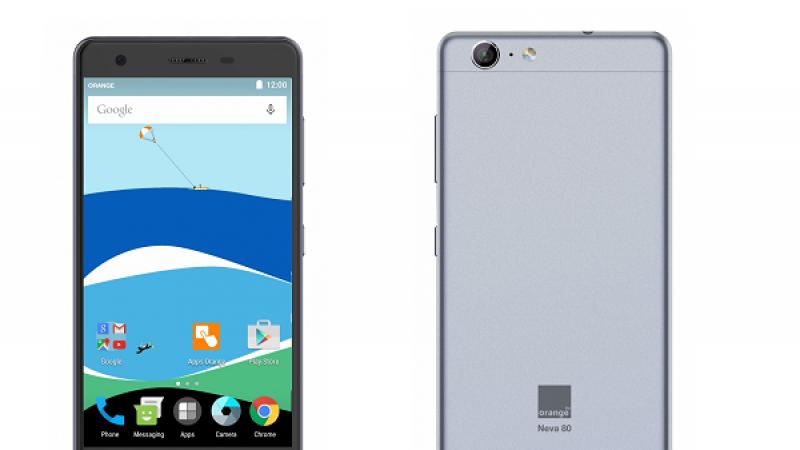 Orange annonce la sortie du Neva 80, le smartphone compatible VoLTE à moins de 200 euros