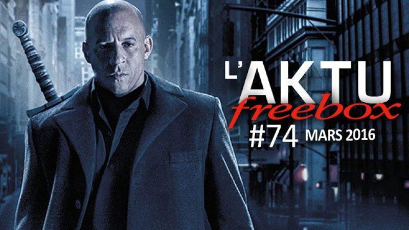 Freebox Aktu : découvrez toute l'actualité TV du mois sur la Freebox