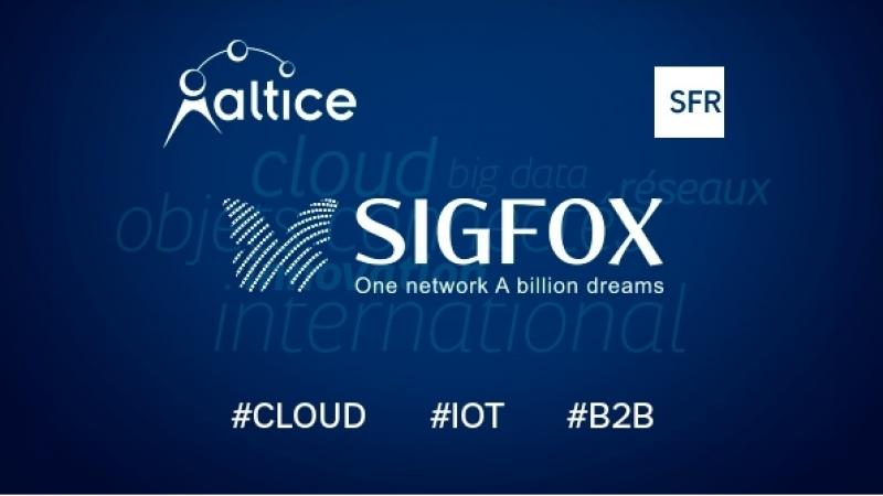 Altice et Sigfox annoncent un partenariat dans l'internet des objets