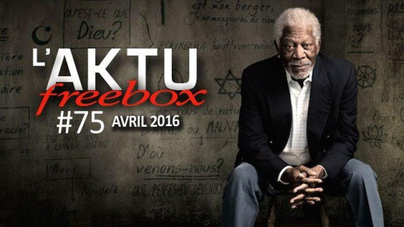 Aktu Freebox : découvrez toute l'actualité de Freebox TV d'avril