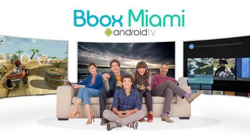 Bouygues annonce Android TV sur la Bbox Miami mais avec une hausse de tarif de 4 euros et 12 mois d'engagement