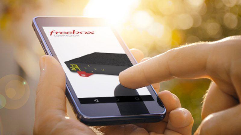Free lance une mise à jour avec des nouveautés et corrections pour Freebox Compagnon