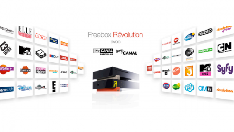 Explications sur la facturation Freebox Révolution & TV by Canal, et le mois d'octobre facturé pour ceux qui ont migré