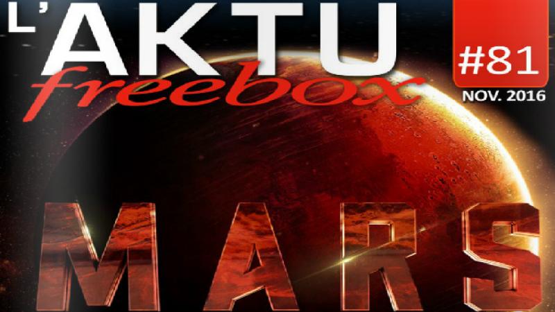 Découvrez en avant première le magazine des abonnés Free du mois de novembre