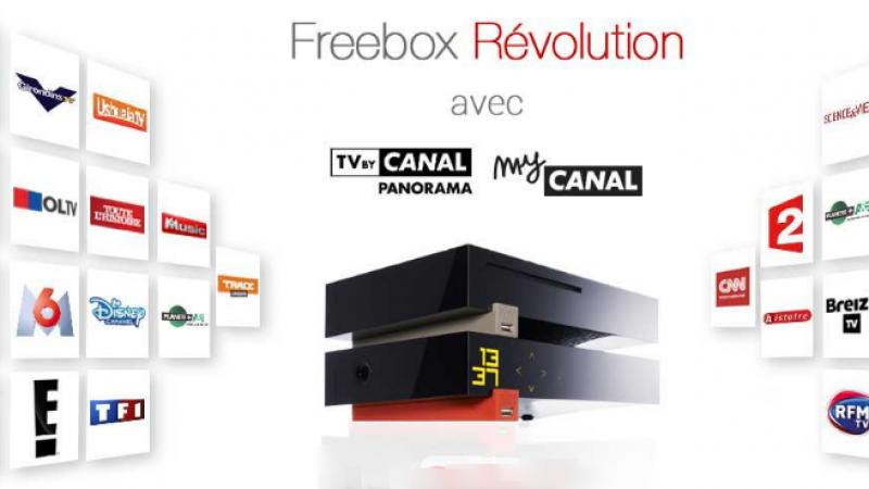 Free ajoute encore de nouvelles chaînes dans l'offre Freebox Révolution et TV by Canal