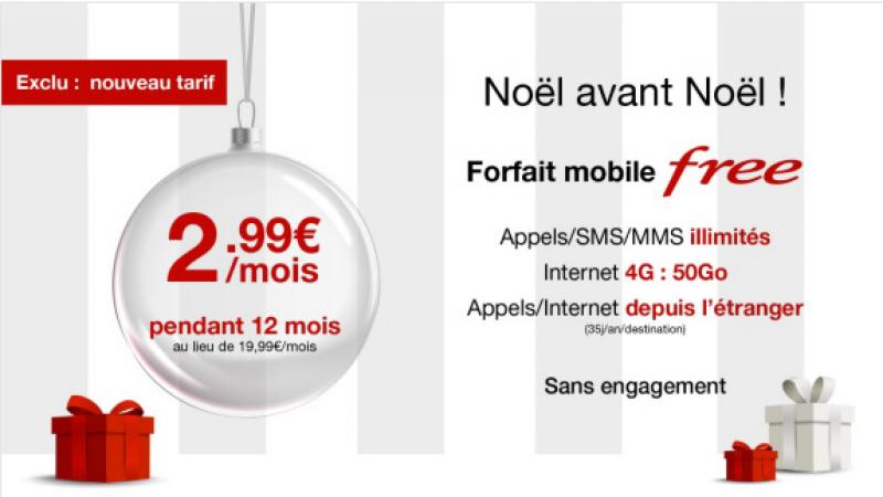 Vente Privée : il est maintenant possible de souscrire au forfait Free à 2,99€ pour une ouverture de ligne (sans portabilité)