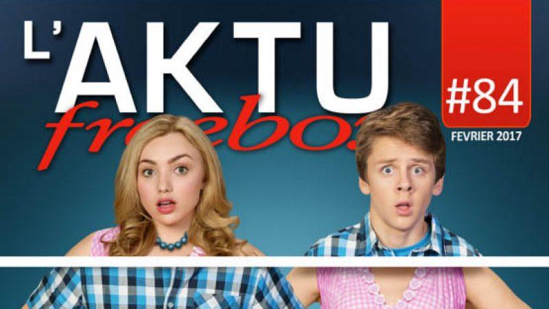 AKTU Freebox : découvrez toute l'actualité de Freebox TV en février