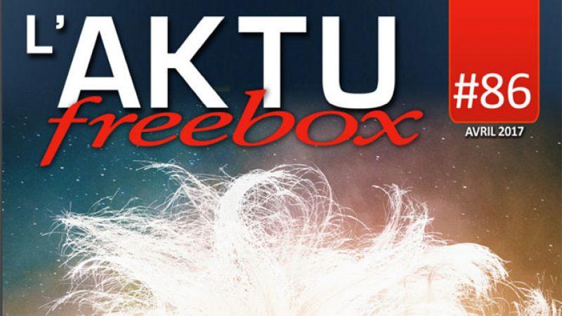 Free publie le nouvel AKTU Freebox : Découvrez toute l'actualité de Freebox TV en avril