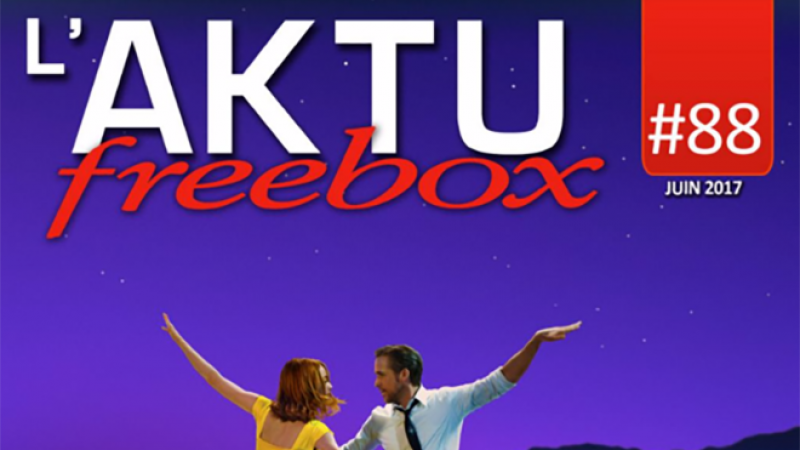 AKTU Freebox : Découvrez toute l'actualité de Freebox TV du mois de juin