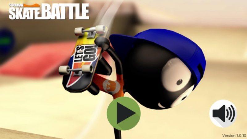 Freebox Mini 4K : « Skateman Stick Battle », un nouveau jeu de skateboard très amusant gratuit avec achat in-app