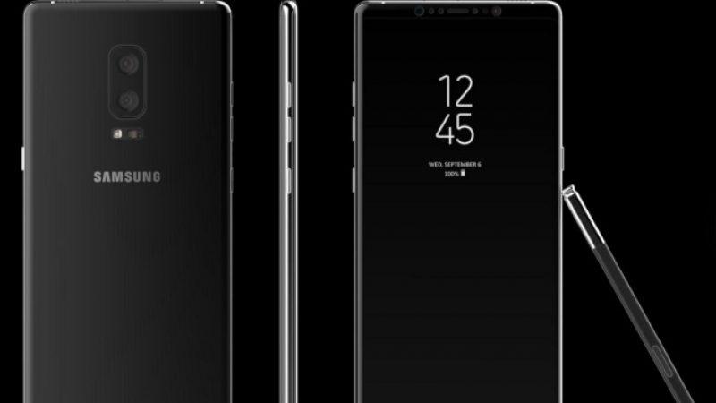 Samsung : Focus sur les premières fuites à propos Galaxy Note 8