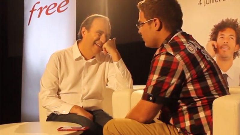 Xavier Niel répond aux questions d'Univers Freebox : La Réunion, la vente de téléphone, la fibre, les autres DOM, la Freebox V7, etc.