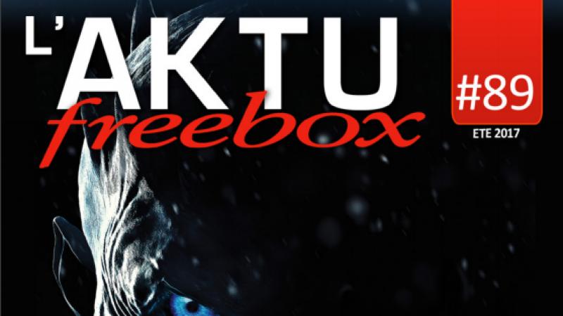 Découvrez toute l'actualité de Freebox TV de l'été avec le numéro double de l'AKTU freebox