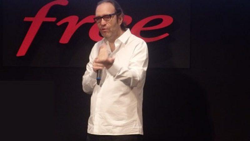 Xavier Niel annonce qu'il est maintenant temps de lancer la Freebox V7 et de créer le buzz