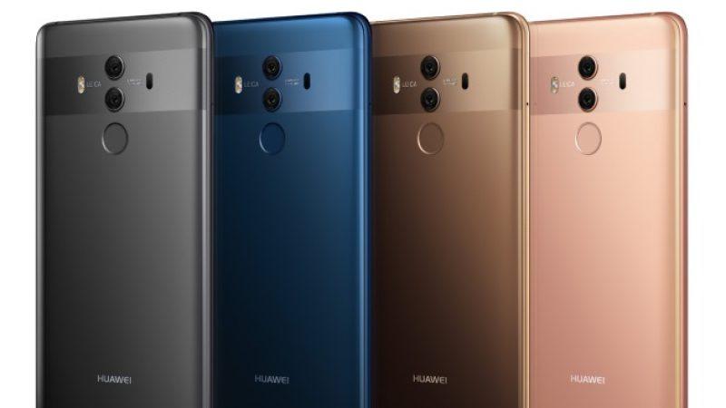 Huawei présente le nouveau Mate 10 Pro, un smartphone qui peut servir d'unité centrale