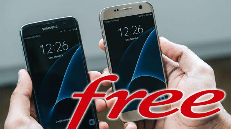 Free Mobile :  c'est parti pour la mise à jour du Samsung Galaxy S8, pour une meilleure connexion au réseau propre  de Free