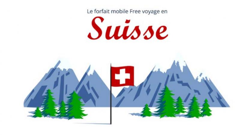 Forfait Free Mobile : la Suisse est désormais incluse dans les 25Go/mois de data en roaming