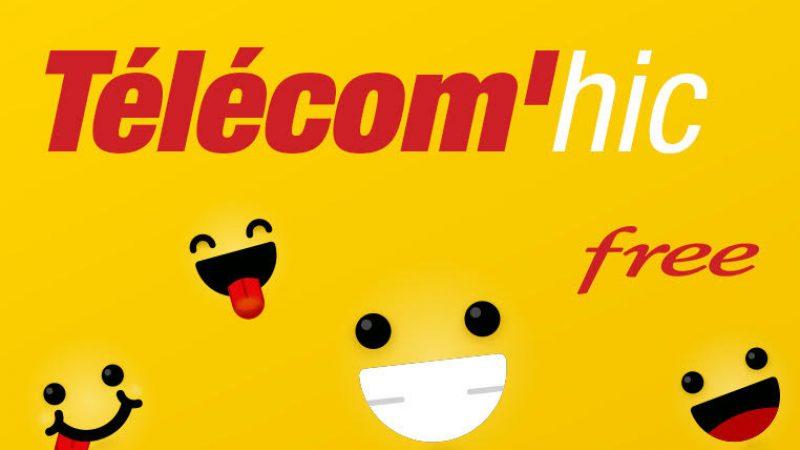 Tout l'humour gravitant autour de Free et des autres opérateurs dans un nouveau site thématique