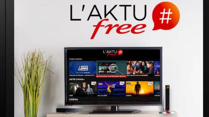 Nouveau service sur la Freebox Révolution avec l'arrivée de l'AKTU Free