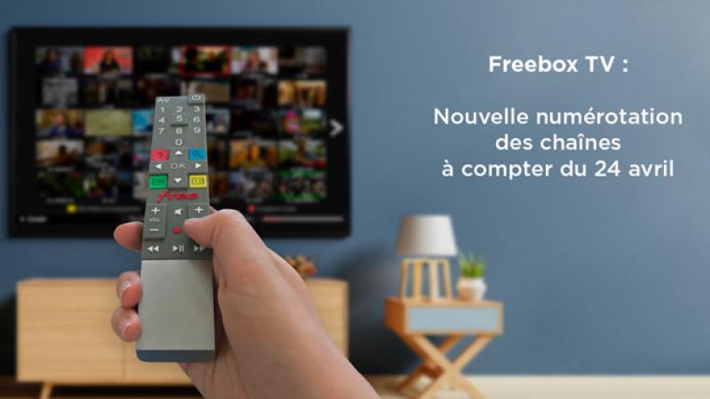 Free procède à une importante renumérotation de Freebox TV à compter d'aujourd'hui, découvrez la en détail