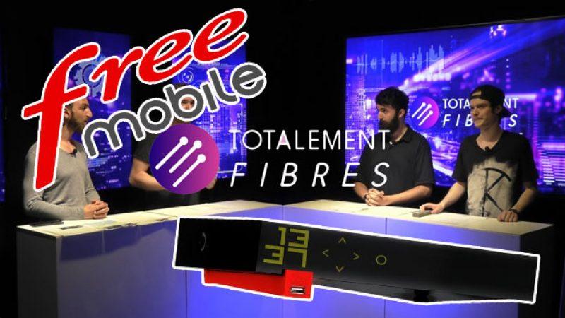 Totalement fibrés #5: des tarifs qui évoluent chez Free Mobile, vos musiques gérées automatiquement sur Freebox, etc.