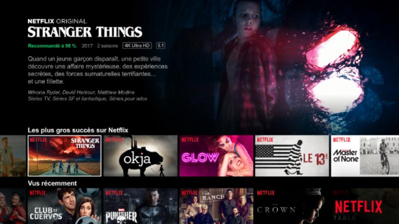 L'application Netflix devrait débarquer sur les Freebox lors de la sortie de la V7
