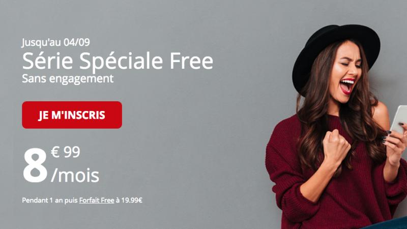 """Free Mobile booste la data de son forfait """"série spéciale"""" à 8,99€/mois"""