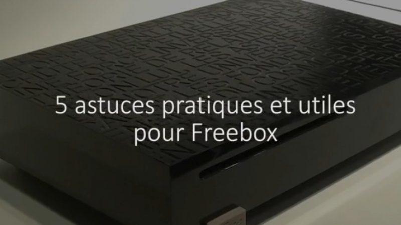 Nouveau format sur la chaîne YouTube Univers Freebox : ' 5 astuces pour votre Freebox Révolution'