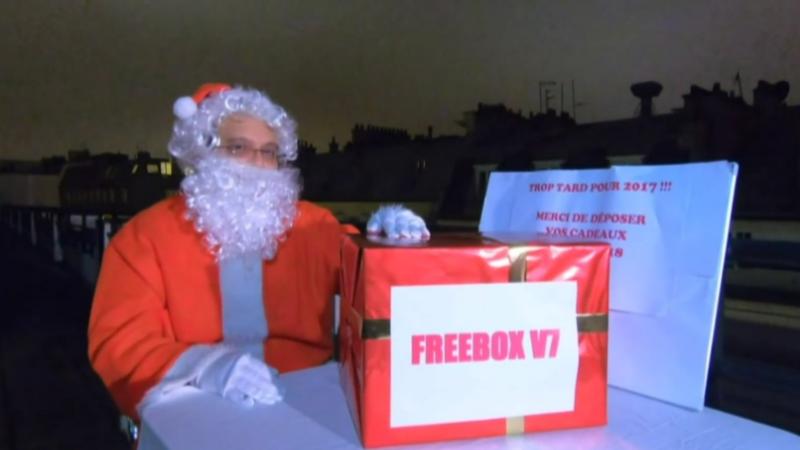 """Free assure que la Freebox V7 """"sera au pied du sapin"""""""