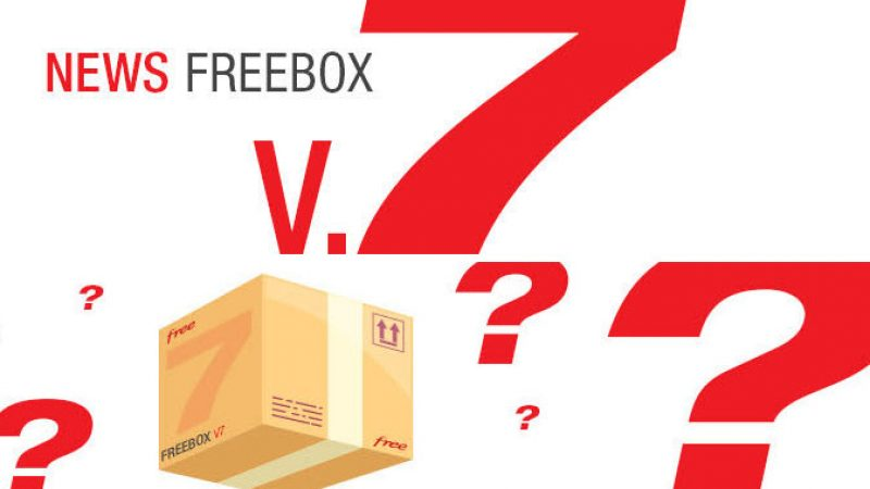 Une affiche annonce que la rue du siège de Free va connaitre du mouvement. Enfin le lancement de la Freebox V7 ?