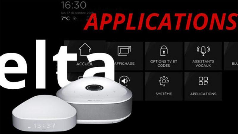 Découvrez toutes les applications et les jeux de la nouvelle Freebox Delta