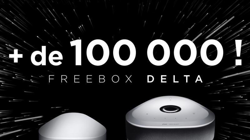 """Free annonce avoir déjà séduit plus de 100 000 nouveaux abonnés avec la Freebox Delta, """"un énorme succès"""""""