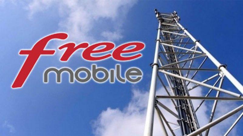 Lancement des cartes d'antennes et de débit chez Free Mobile sur Univers Freebox avec RNC Mobile