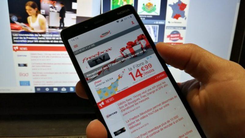 Interview Univers Freebox : les smartphones Nokia chez Free supporteront-ils la 4G 700 MHz  et auront-ils droit à Android 10 Q ?
