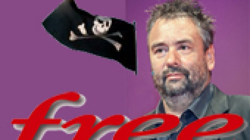 """Luc Besson """"Free devrait être poursuivi pour complicité de piratage"""""""