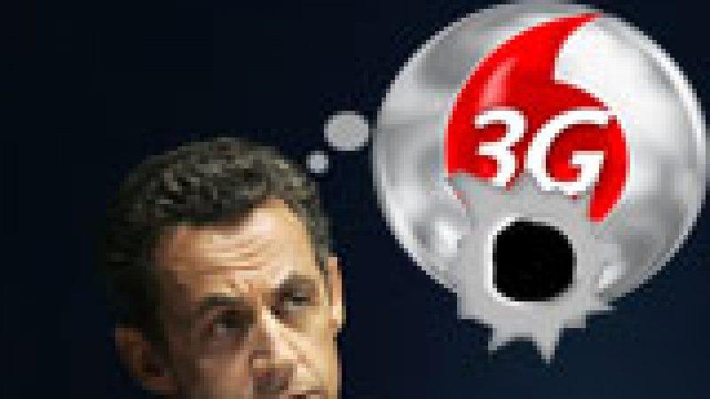 Sarkozy peut-il empêcher Free d'obtenir la 4ème licence 3G ?