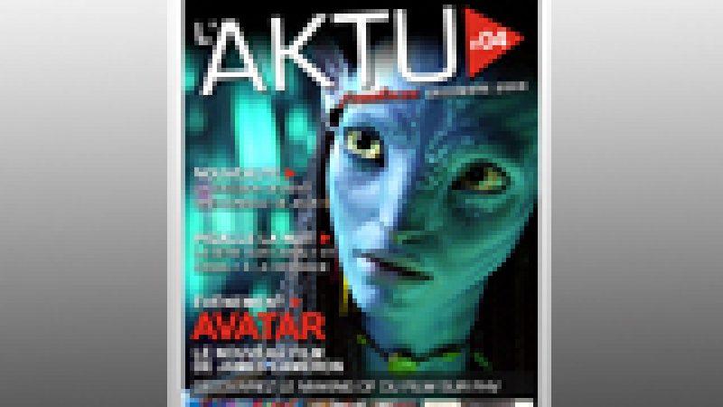 Le magazine Aktu Freebox de décembre est sorti