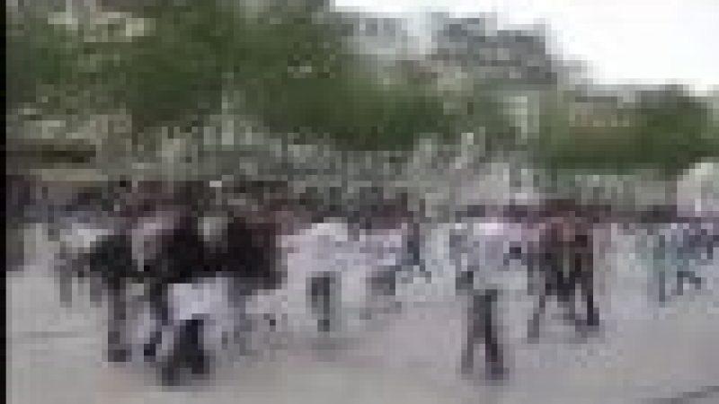 La Flashmob Free de Paris en vidéo