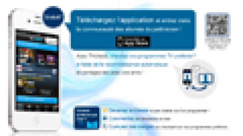 TVCheck (Orange), une application qui associe la télévision, le mobile et les réseaux sociaux.