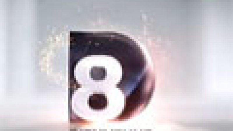 Découvrez les images du lancement de D8