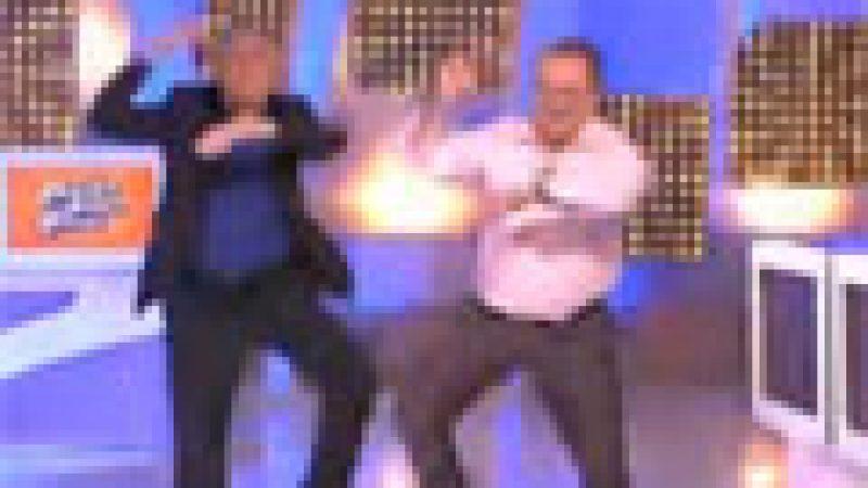 Zapping : Nagui fait une démonstration de  Gangnam Style…